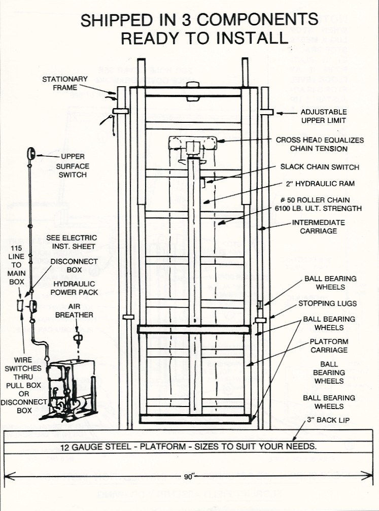 Florlift Of New Jersey Architect Builders Instructions